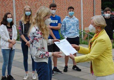 Gymnasium Damme erhält Schülerpreis