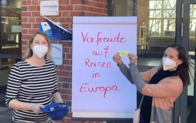 Vorfreude auf Reisen in Europa …