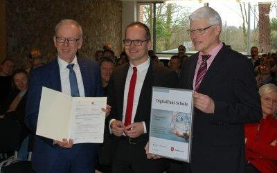 Digitalpakt: Gymnasium erhält 75013 Euro