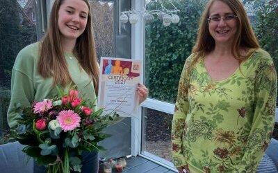Emma Stührenberg wird für ihr ehrenamtliches Engagement ausgezeichnet